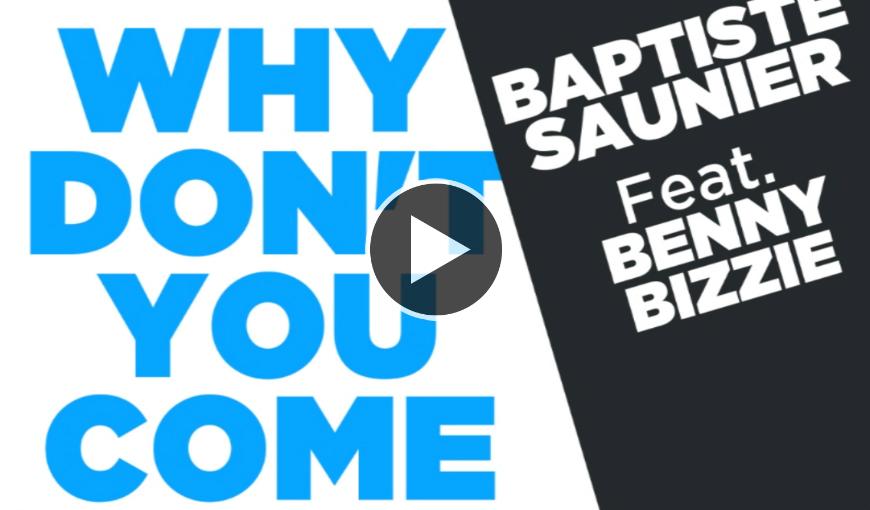 Baptsite Sainier Benny Bizzie www.hammarica.com EDM News