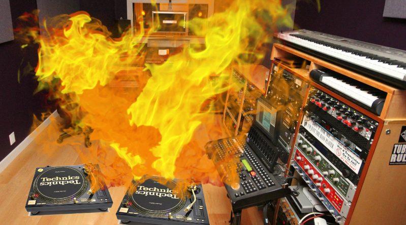pyro technics turntables EDM PR www.edmpr.com